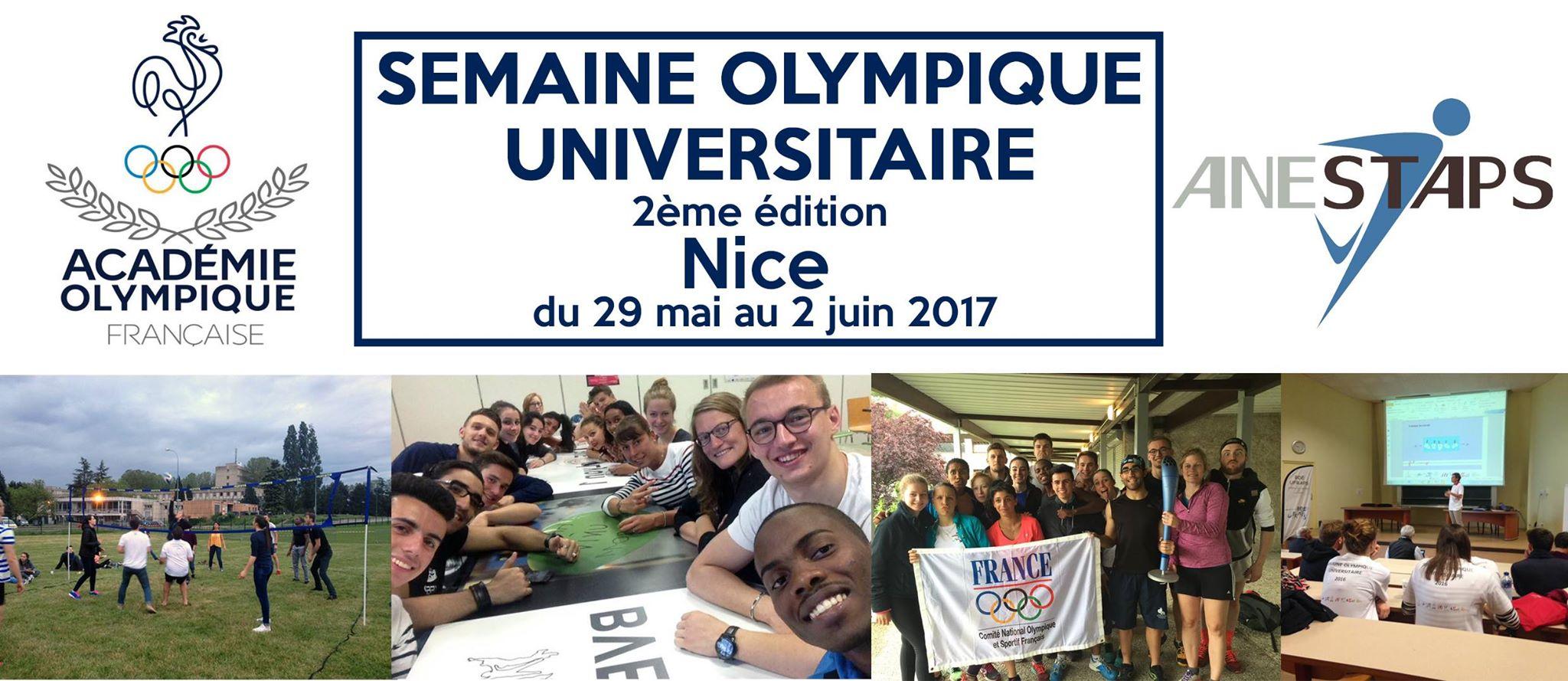 Seconde semaine olympique universitaire
