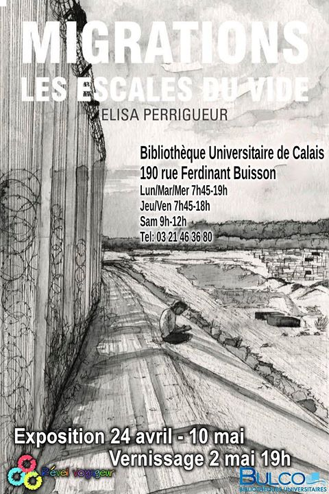 [Calais] Expositions « Migrations »