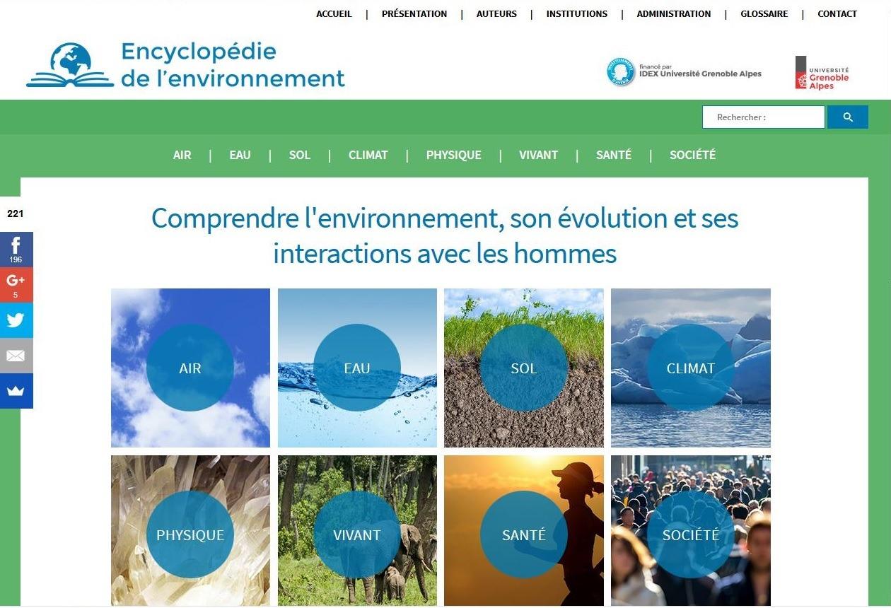 Un site pour tout savoir sur l'environnement
