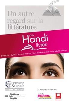 Appel à candidature : Prix Handi-Livres 2018