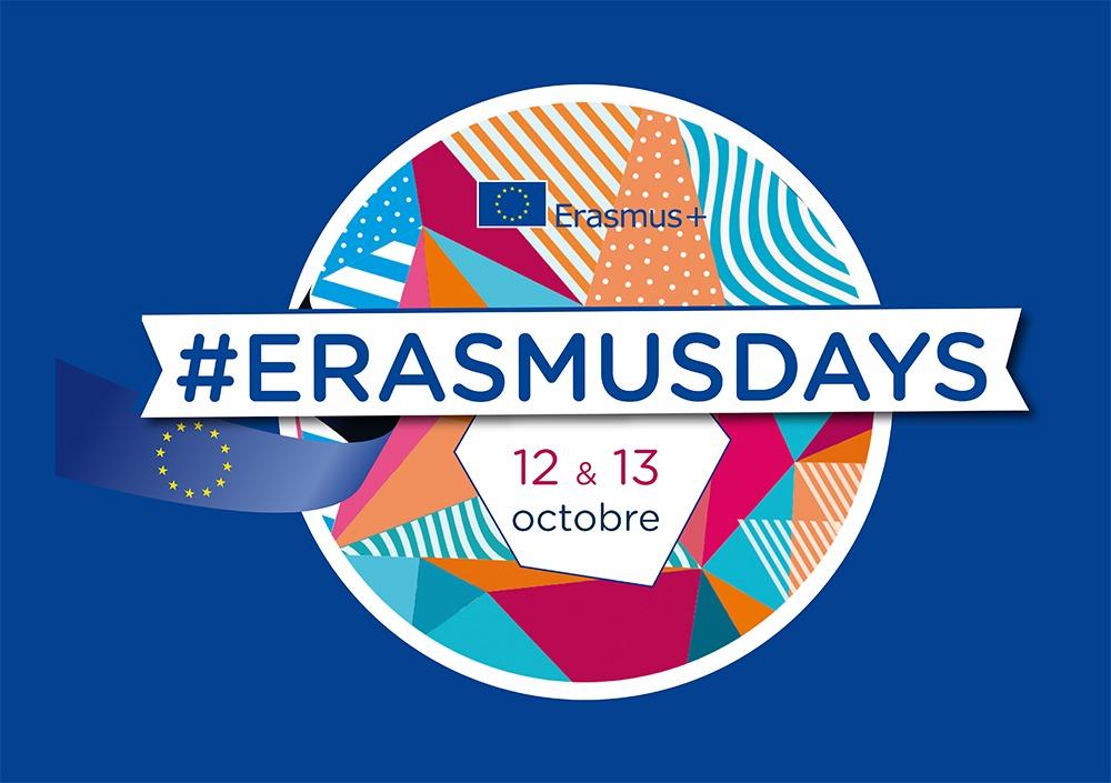 ErasmusDays les 12 et 13 octobre