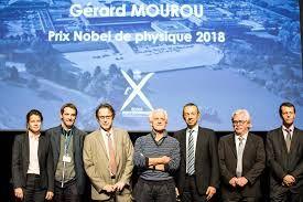 Prix Nobel de Physique et de Chimie 2018