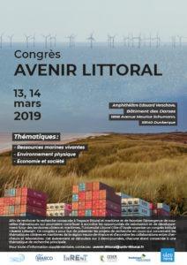 Congrès «Avenir Littoral» 13 et 14 mars 2019