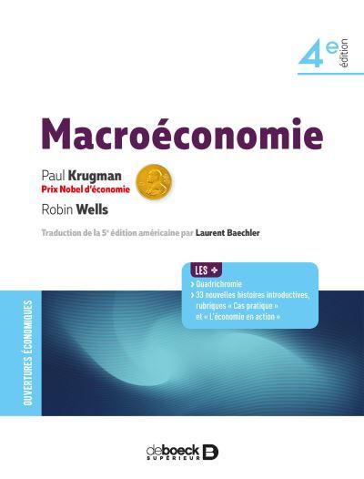 Nouveauté Macroéconomie