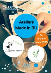 [Ateliers] Made in BU