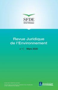«Revue Juridique de l'Environnement» en ligne sur CAIRN
